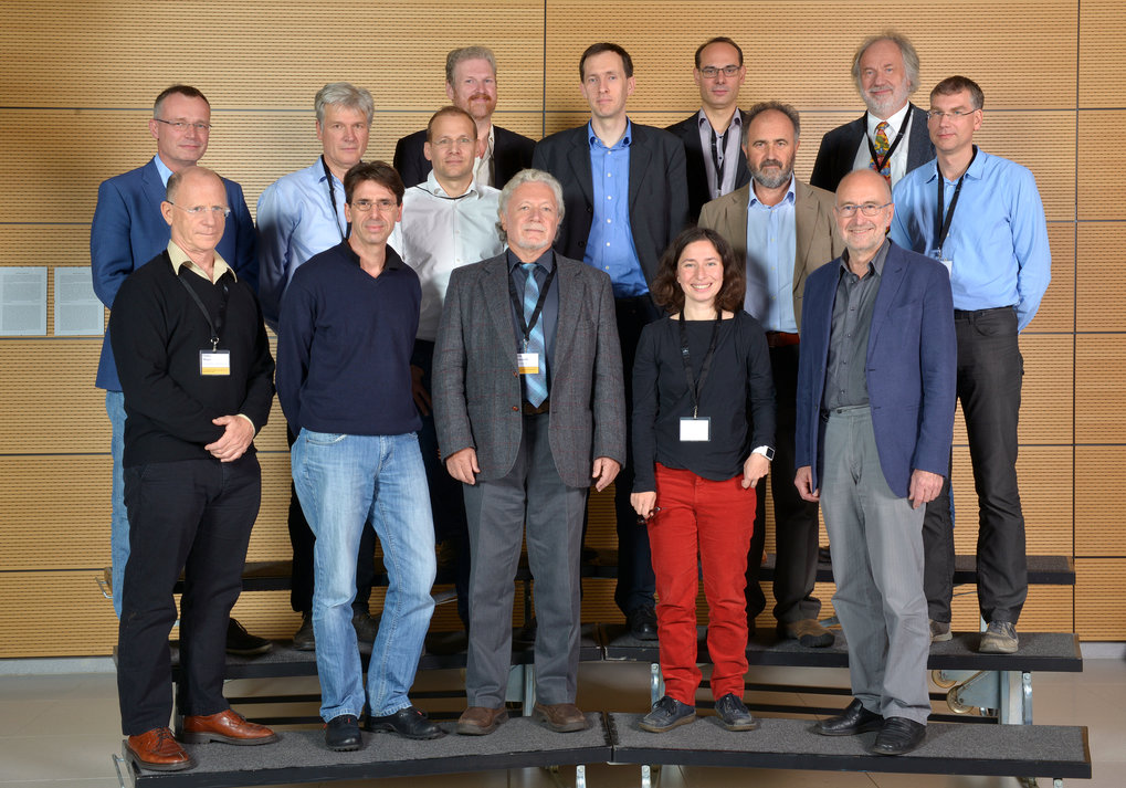 Theo Geisel (1st row, right) and the speakers at the Symposium