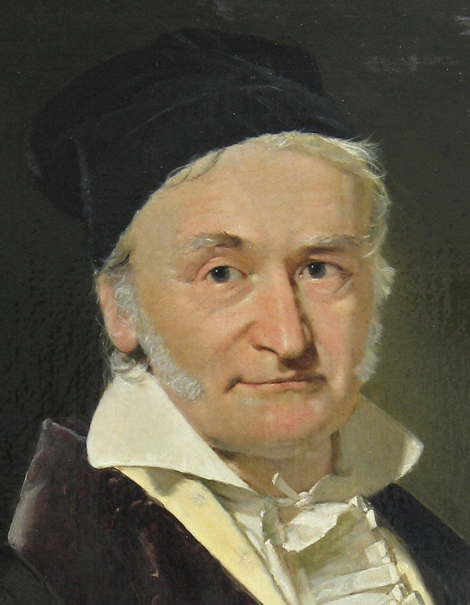 Carl Friedrich Gauß(Picture taken from Wikipedia)
